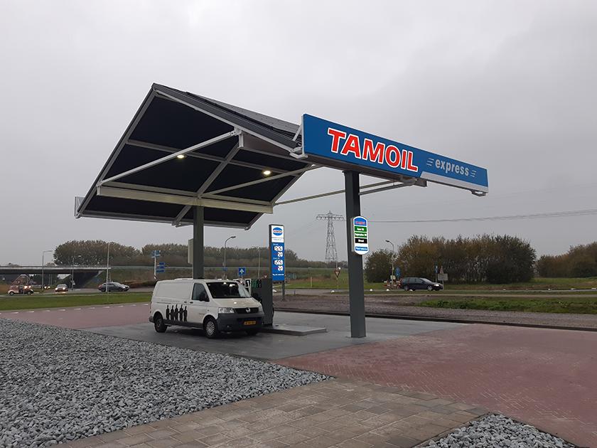 Nieuw tankstation